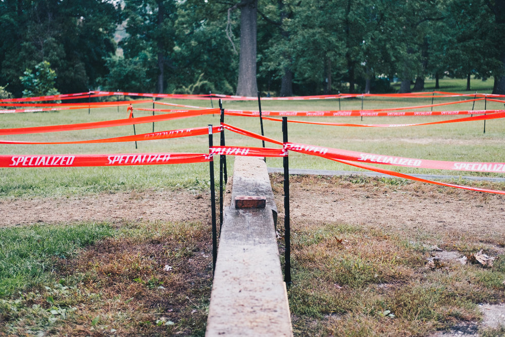 One of CCCX signature features the planter barrier. A high and awkwardly large barrier. You'd have to decide to step on it or hop the entire thing.