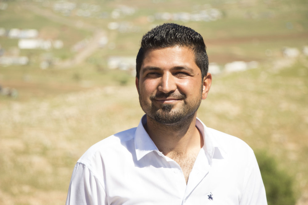 Zirak, on a trip to Sinjar Mountain.