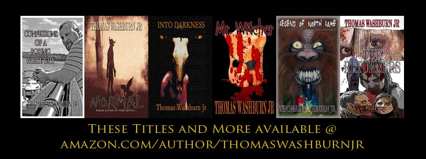 Thomas is currently the author of over a dozen published works. He also is the host of the weekly Podcast Average Joe's Drive-In which can be found on most Podcast hosting sites like Itunes, YouTube, Podbean and podcast apps like Podcastaddict.  http://www.thomaswashburnjr.com