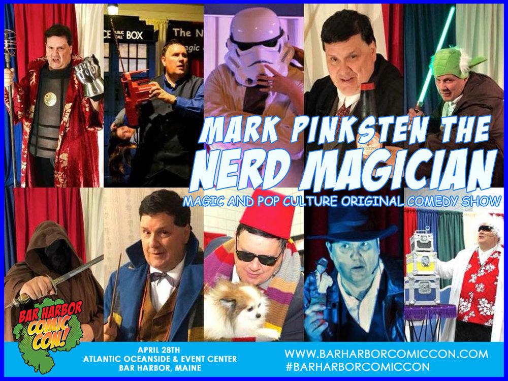 Magician Mark Pinksten