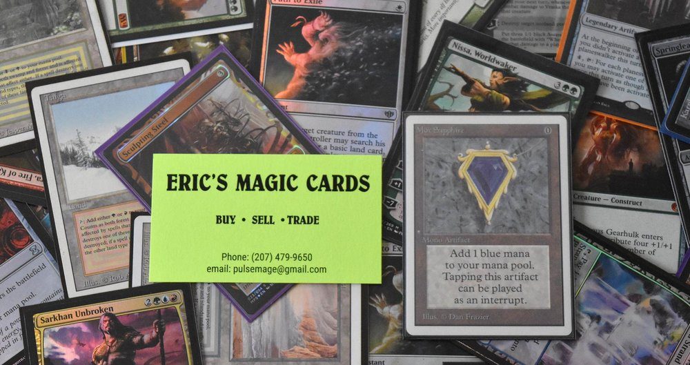 Eric's Magic Cards