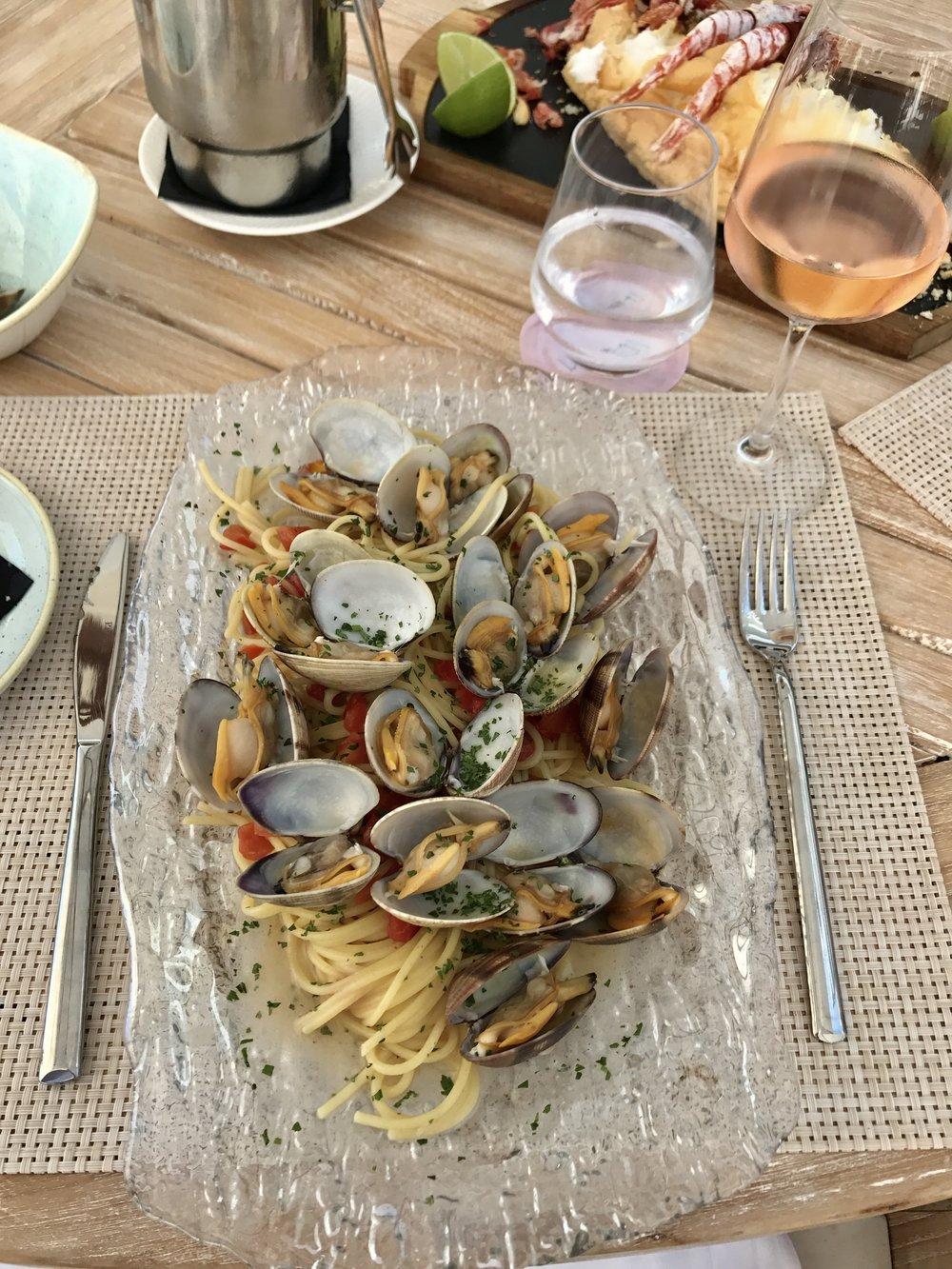 The final supper at The Nobu Ibiza Hotel