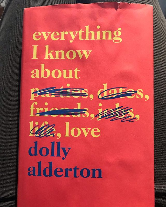 Finishing a book really is one of life's greatest feelings. A little late to the party with this book but thank you @dollyalderton for writing this amazing book. I laughed, cried and have totally fallen in love with you. Sometimes serious, sometimes hilarious and other times heartbreaking, this book I highly recommend 💗 #EverythingIKnowAboutLove #DollyAlderton #Book