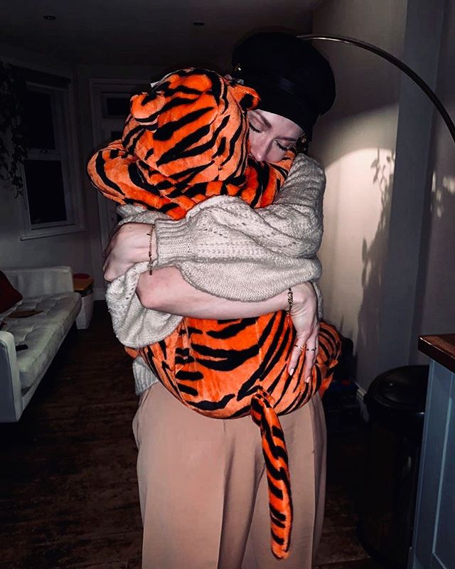 My face says it all really.  What a welcome home from my boy ♥️ #Tiger #Costume #MyBoy