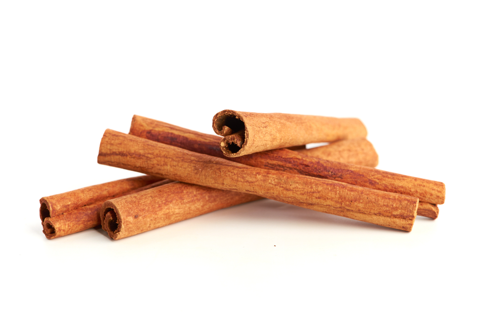 Cinnamon can lower blood sugar levels, reduce heart disease risk factors, is loaded with antioxidants, and is anti-inflammatory. Cinnamon activates protective antioxidant responses in human colon cells. Find it in our Chai Blend & Healing Blend.