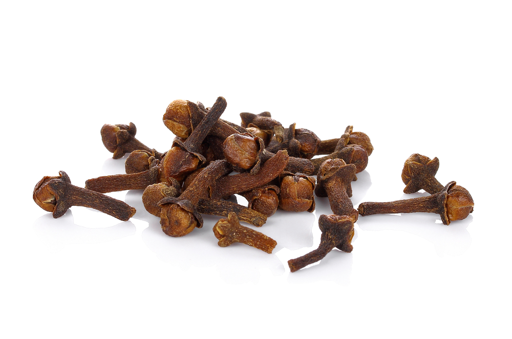 Clove aids in digestion, has antimicrobial properties, protects the liver, boosts the immune system, controls diabetes, preserves bone quality, and contains anti-mutagenic properties. Clove also displays aphrodisiac properties. Find it in our Chai Blend.