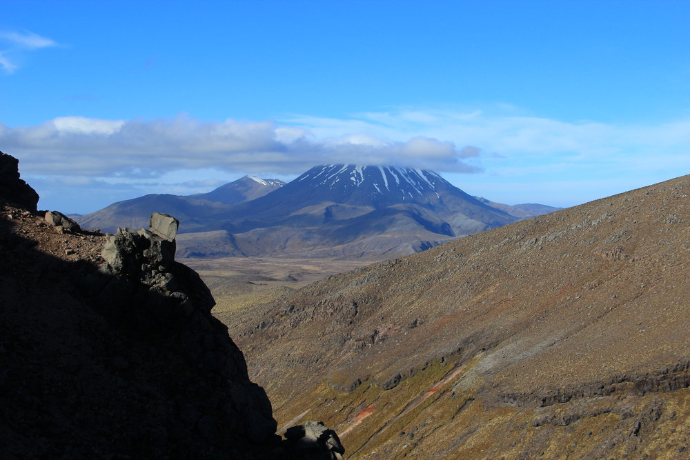 Our view of Mount Doom! Also know as Mt Ngauruhoe, in the Tongariro National Park, NZ.