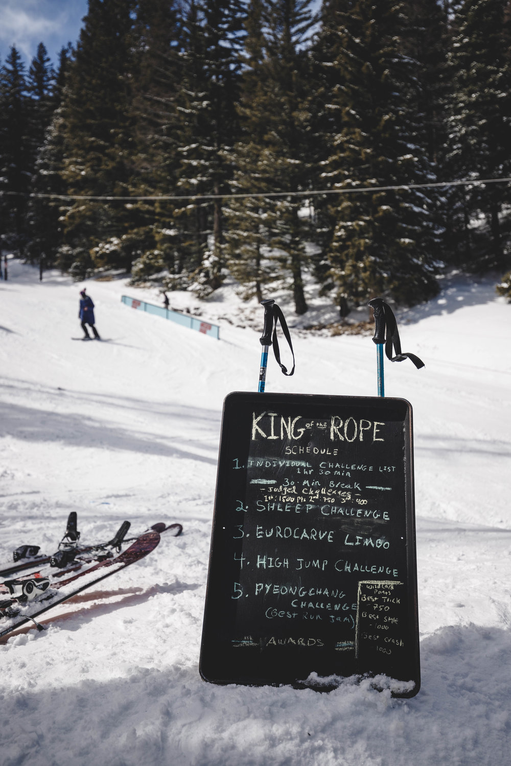 KOTR, thanks to the Sauceposse, Line skis, and Mission Ridge parks.