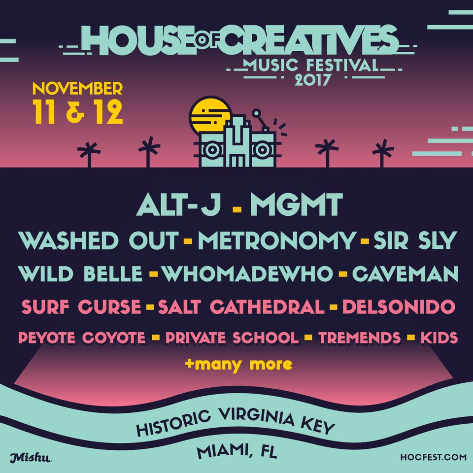 HOC Music Fest Lineup Announced
