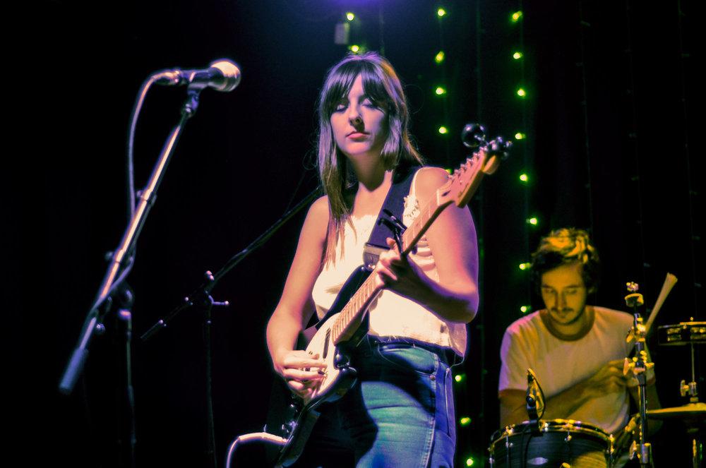Molly Burch + Lucy Dacus (by Stephanie Estrada)