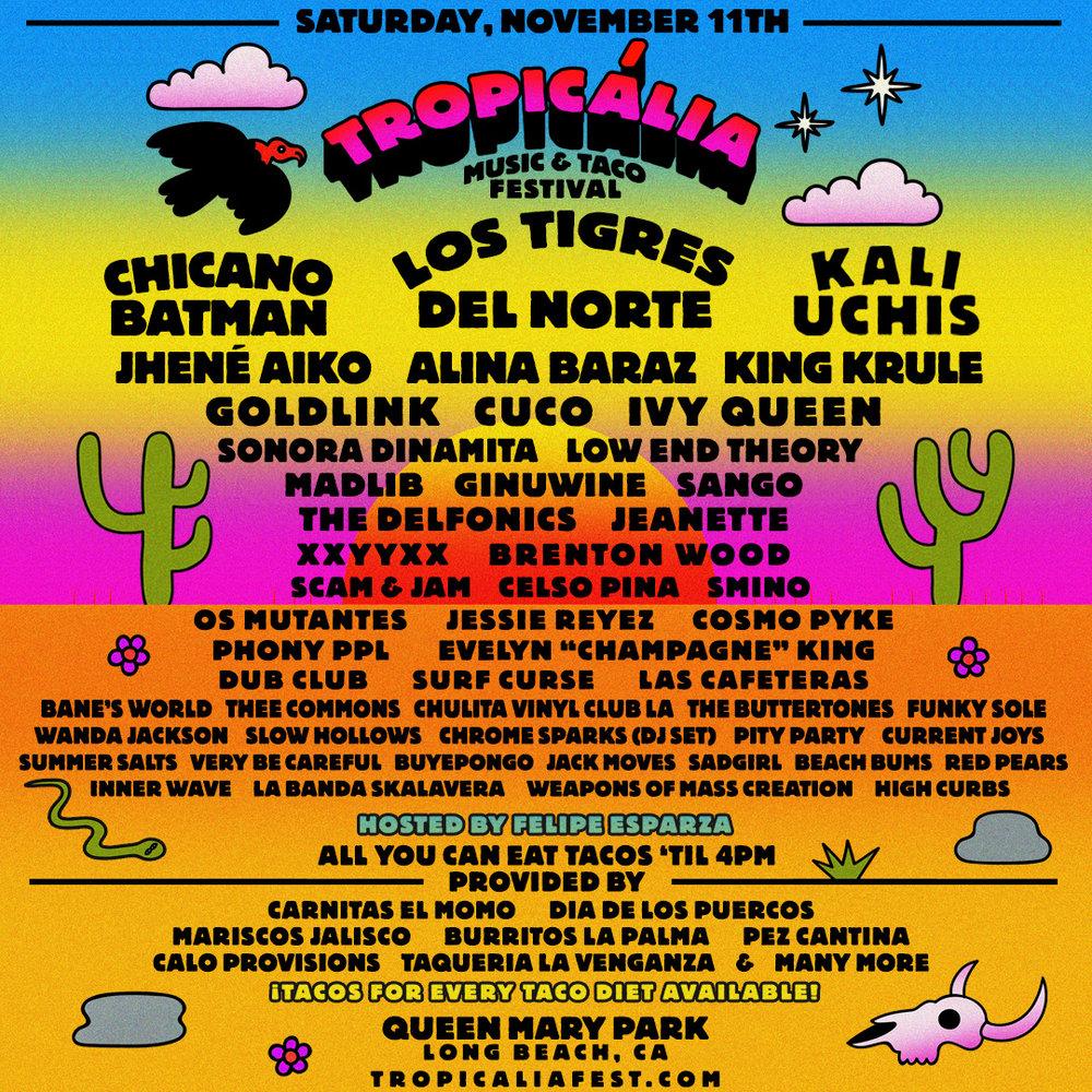 Tropicalia Music + Taco Fest