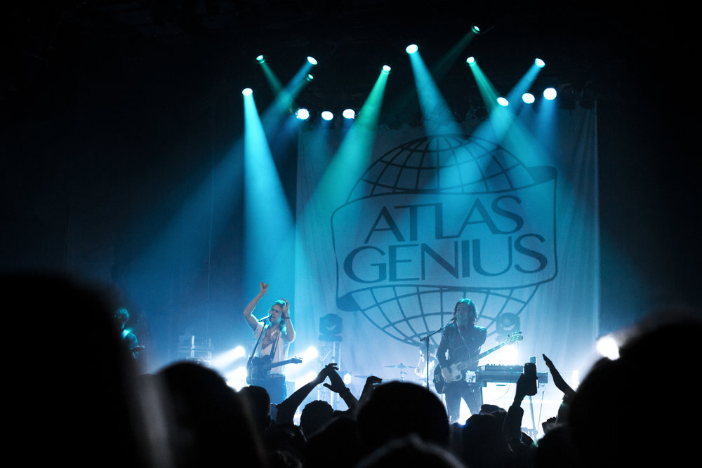 Atlas Genius - 10.13.17 //Gramercy Theatre //New York, NYPhotos by Nicole Conflenti