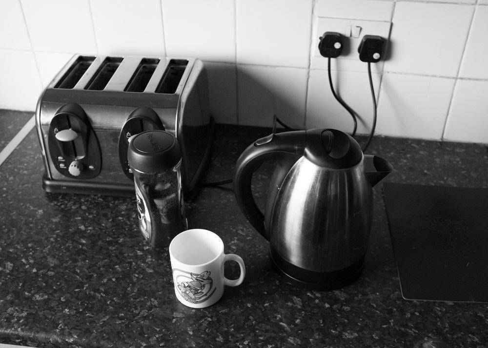 Instant coffee. Glasgow.