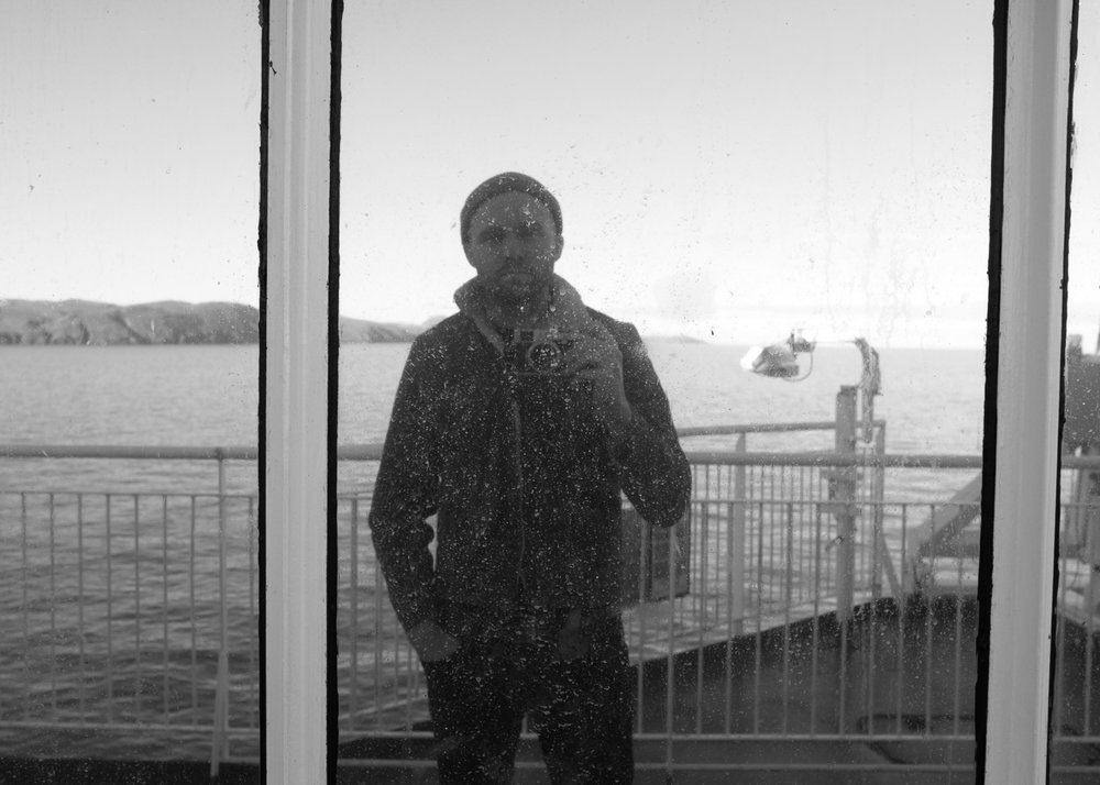 Selfie. North Channel.
