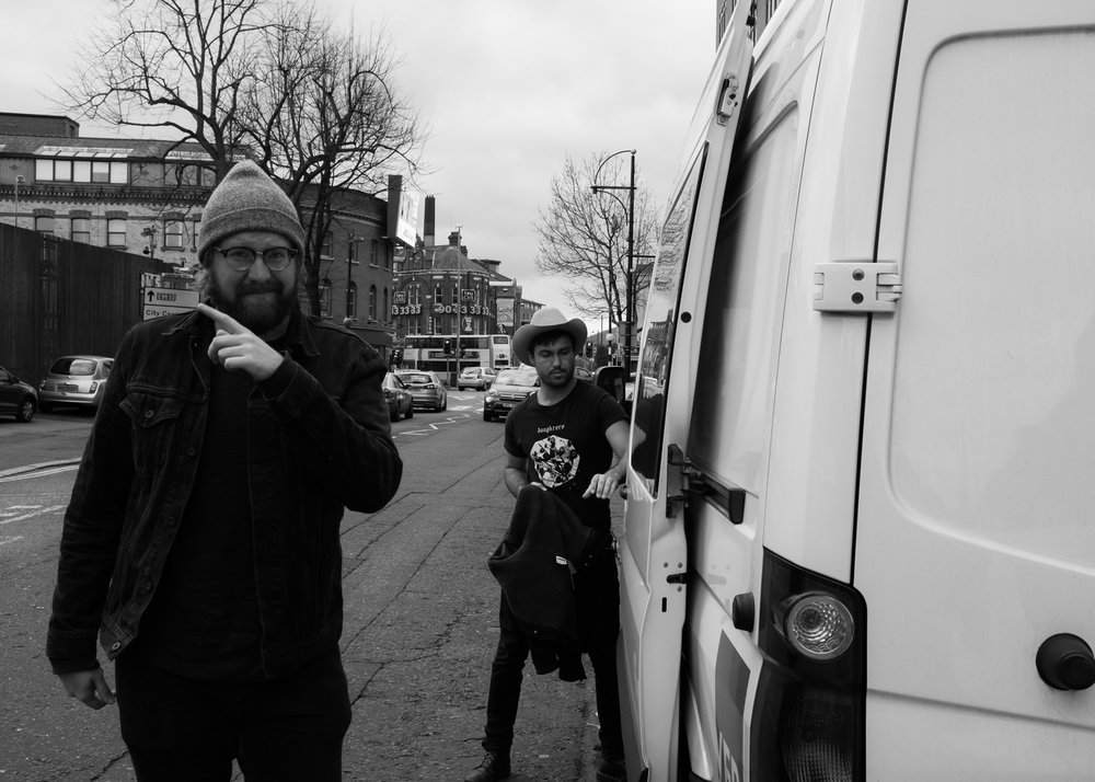 Chuck and Jared. Belfast.