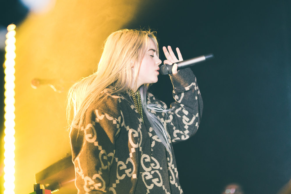 Billie Eilish - The Bowery Ballroom in New York, NY on March 23rd, 2018Photos by Alex Lyon