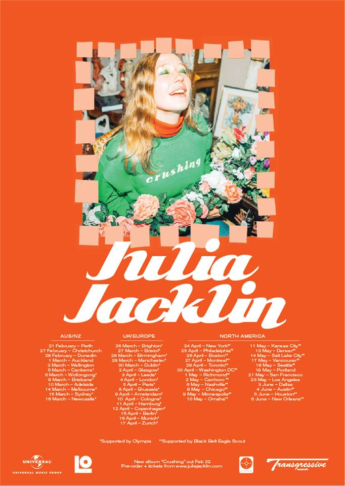 Julia's Upcoming Tour Dates