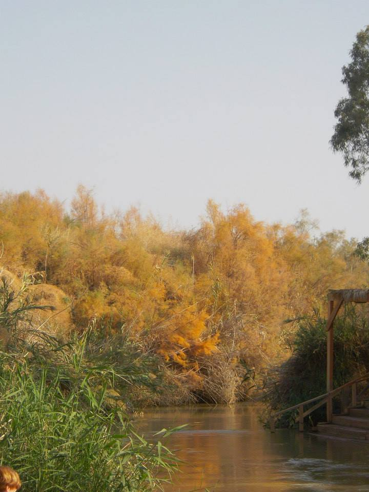 Jordan River, West Bank
