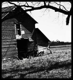 Falling Barn BW.jpg