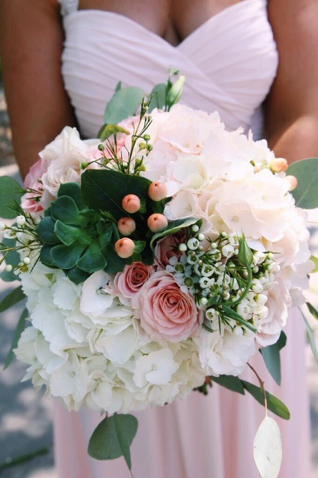 Close up of the bridsmaid's bouquet! Photo by www.nkd-creative.com