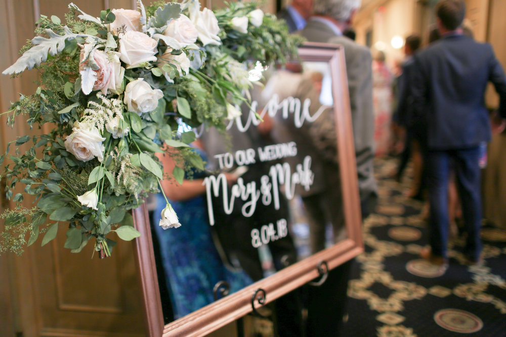 Mary and Mark's ceremony and reception was at the beautiful  Rush Creek Golf Club , in Maple Grove Minnesota. It was a fitting location for both Mary and Mark as they are golfers who met in college!