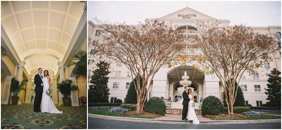 27Ballantyne Hotel Wedding