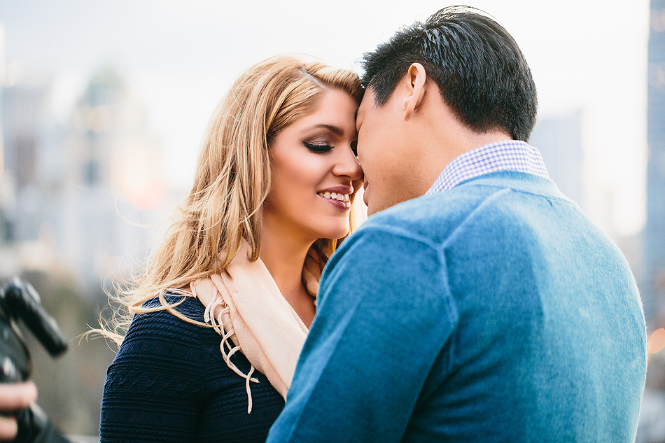 Engagement session in Uptown Charlotte