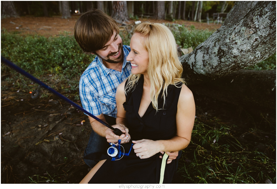 Engagement Session at Guilford Mill in Greensboro NC