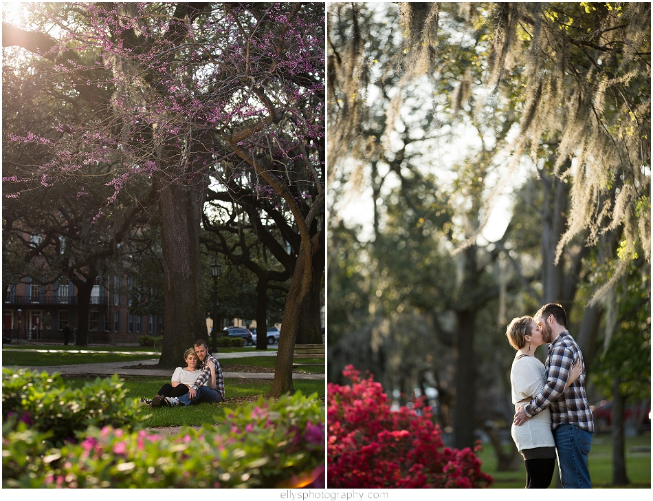 Couple Portrati Session in Savannah Georgia