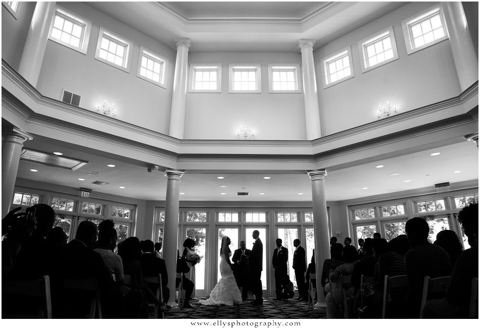 Ashley and James Wedding at Trump National Golf Club - www.ellysphotography.com