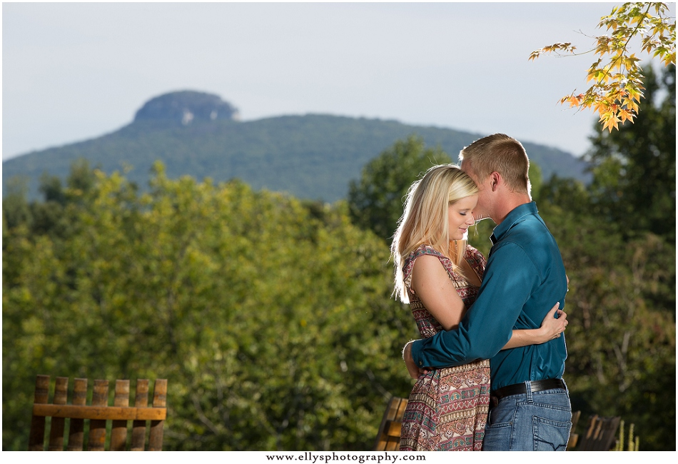 Engagement Session at Jolo Vineyards and Winery in Pilot Mountain, NC