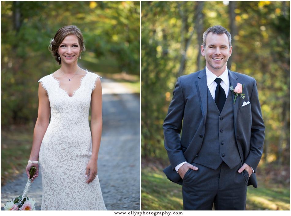 Beautiful fall wedding at Medaloni Cellards in Lewisville, North Carolina