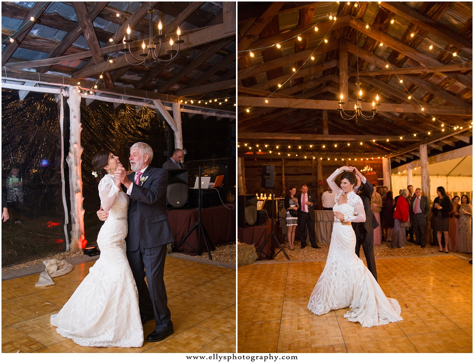 Andrea Leatherman and Buck Davidson Jr. Wedding at Tirzah Farms at her childhood home in South Carolina