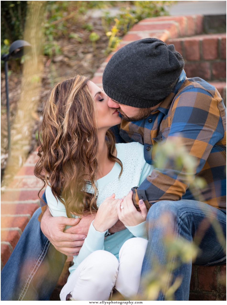 Engagement Session at Moore Springs Manor House with Courtney and Blake