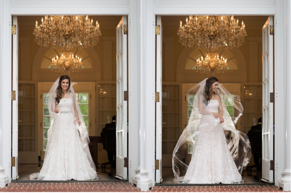 Duke Mansion in Charlotte, NCBLOG POSTBridal Portraits by Elly @ The Duke Mansion -