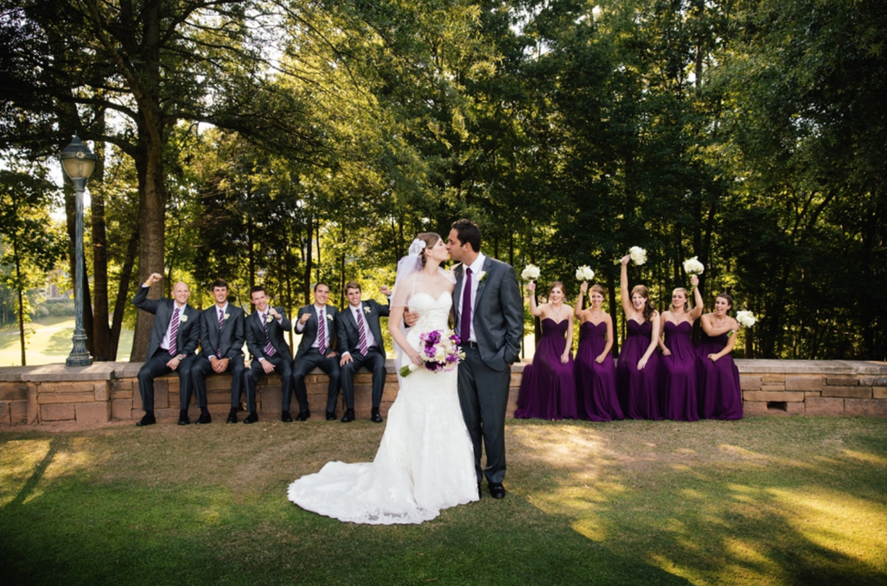 Ballantyne Country Club BLOG POSTREAL WEDDING by Elly @ Ballantyne Country Club -