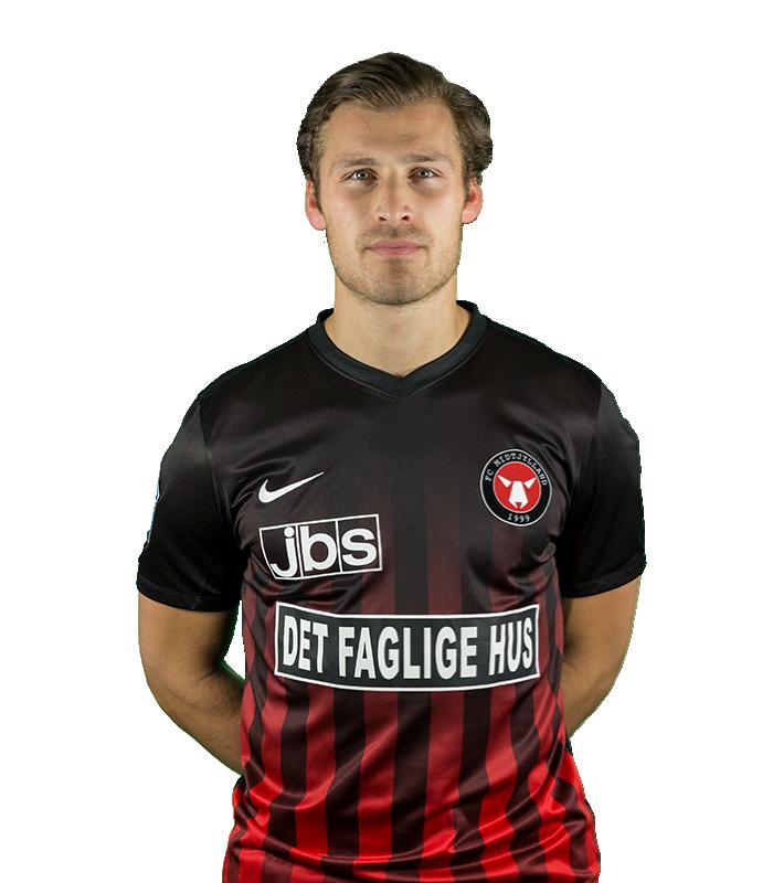 Erik Sviatchenko    Centre-Back  FC Midtjylland  Denmark