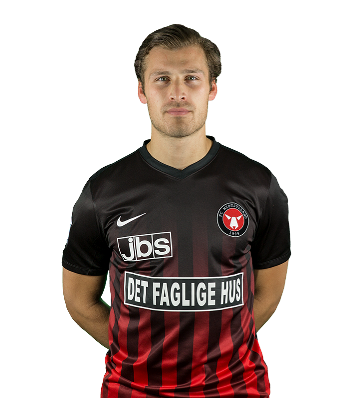 Erik Sviatchenko    Forsvarsspiller  FC Midtjylland