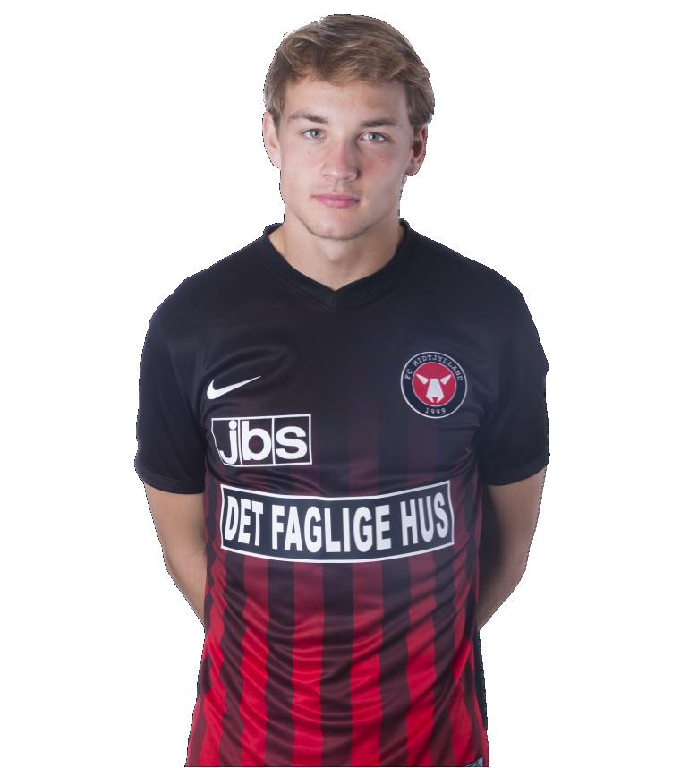 Kristian Dirk Riis    Central Defender  FC Midtjylland (Leje EfB)