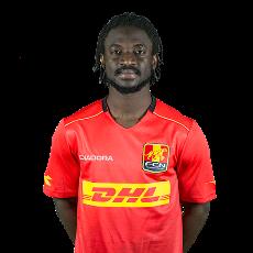 Erneste Asante    Winger / Striker  Al-Jazira  Ghana