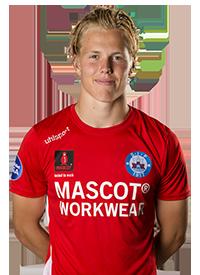 Oliver Haurits    Striker  Silkeborg IF  2000  Denmark