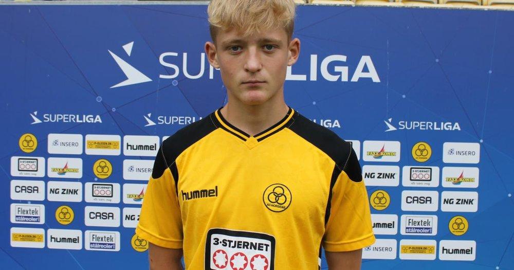 Kasper Engby   Forsvarsspiller  AC Horsens