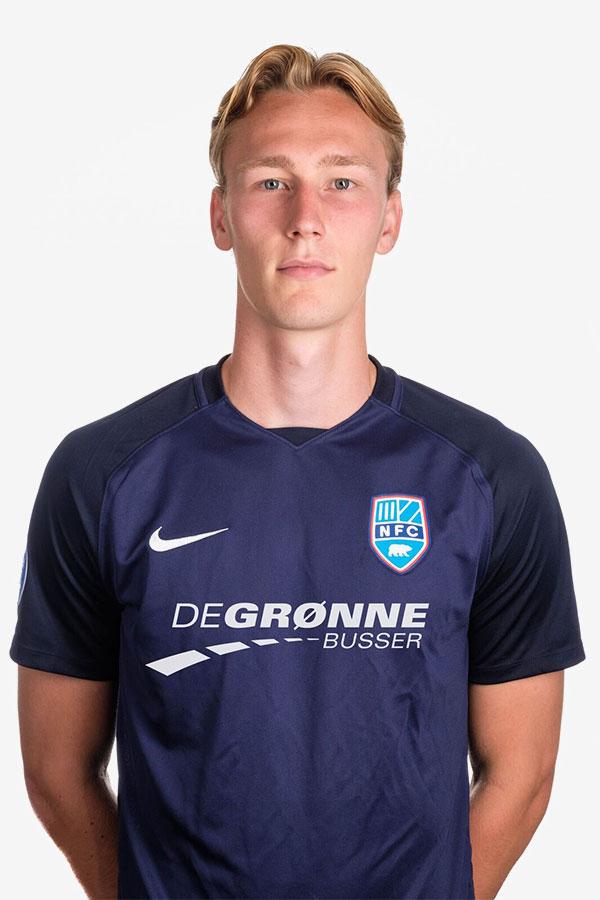 Gustav Kjeldsen    Central Defender  Nykøbing FC