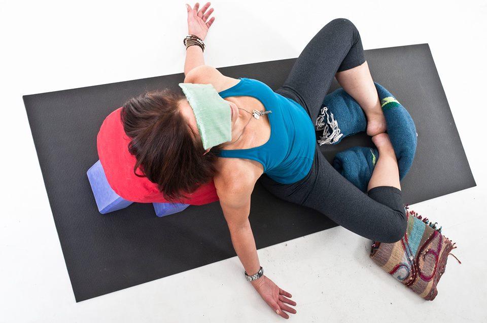 Shannon Paige Earth Yoga Boulder Anjali Restorative