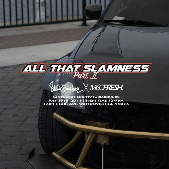 ALL THAT SLAMNESS 2 - We sponsored 18 different trophy categories with all winners taking home a set of our Dragon LEDZ Signature Series.EVENT SPONSOREVENT SPIFFS: Free Stickers, accessories, lanyards, giveaways.