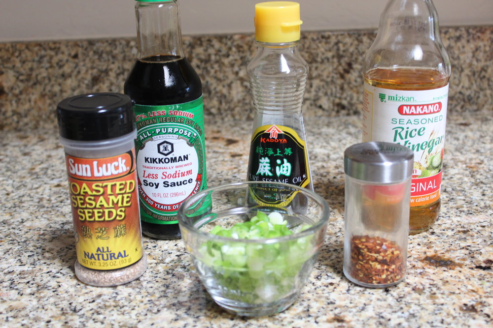 ahi tuna poke bowl marinade ingredients