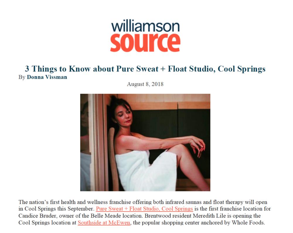 WILLIAMSON SOURCE