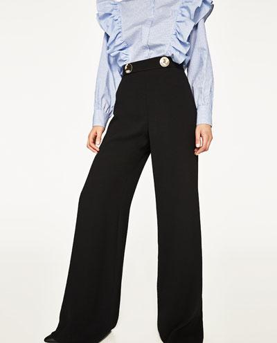 Zara Flowing Trousers
