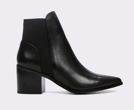 Etiwiel Black Ankle Boot ALDO