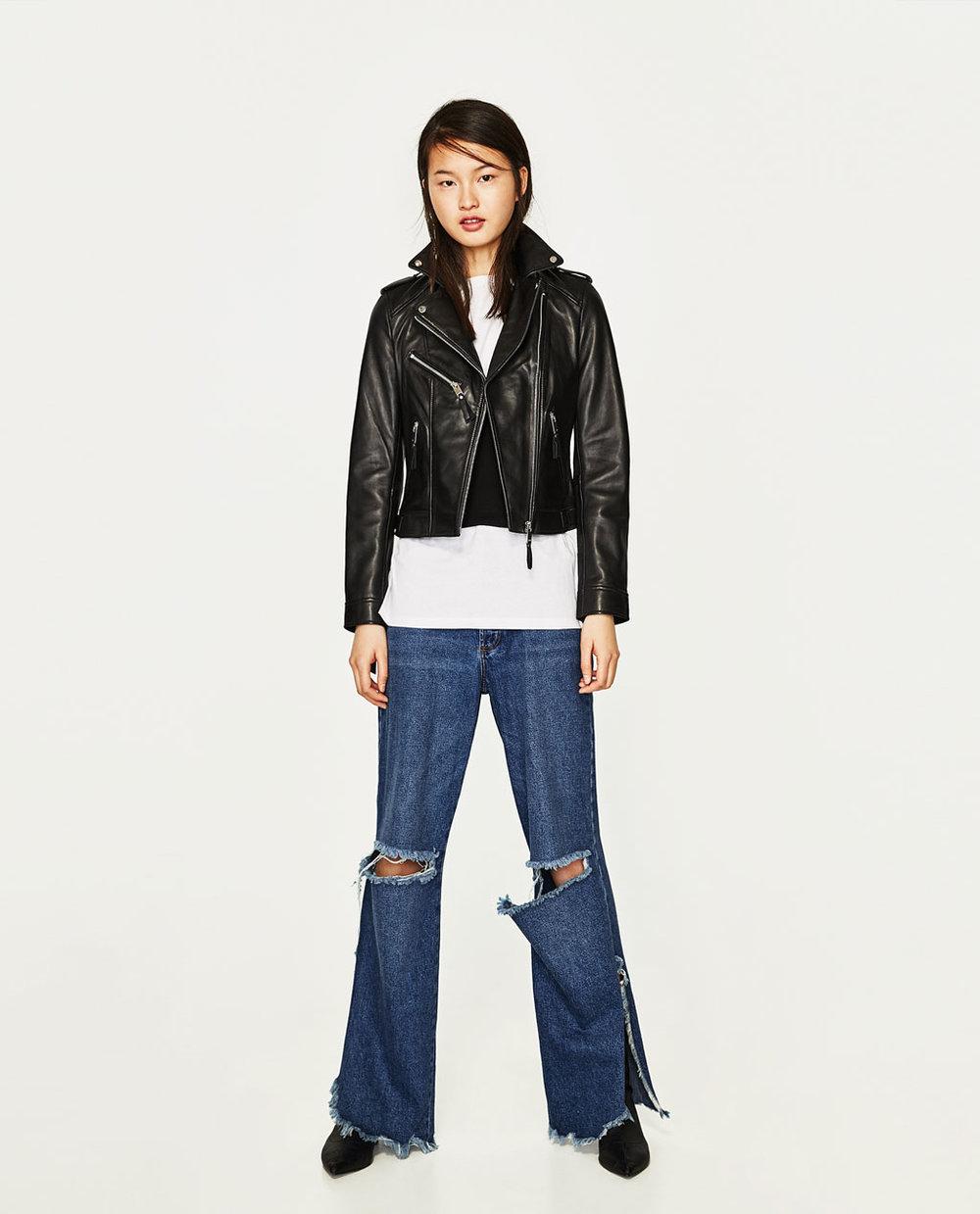 Zara Biker Style Jacket